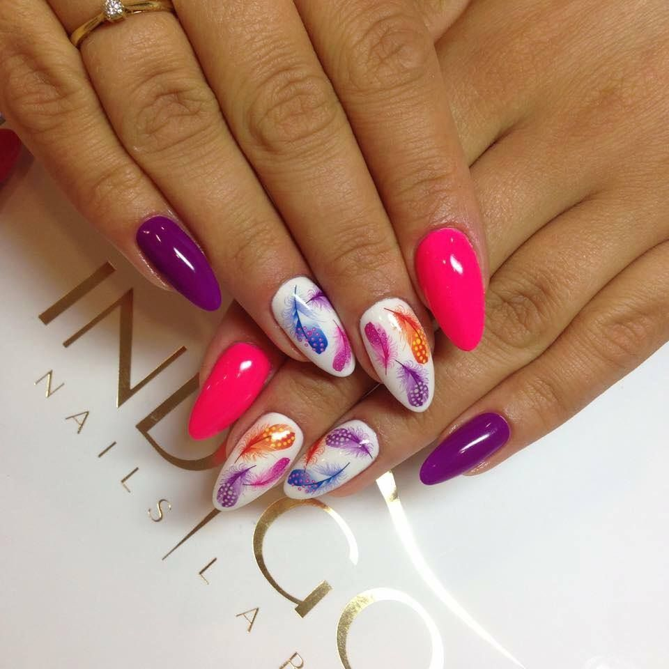 By Madeleine Studio Follow Us On Pinterest Find More Inspiration At Www Indigo Nails Com Nailart Nails Indigo Pink Sprin Gelove Nehty Design Nehtu Nehty