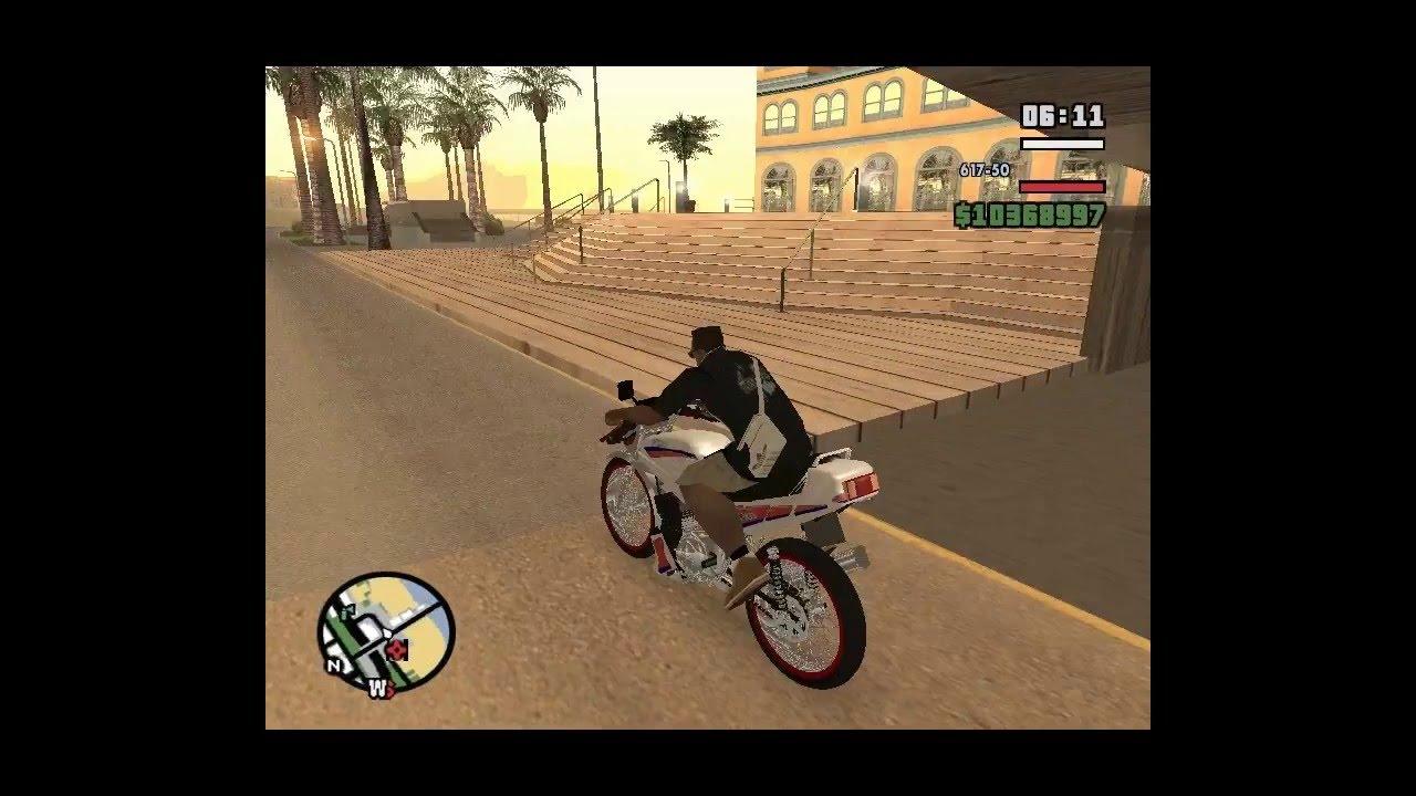 Modelazo San Andreas Instalar Una Moto En Ggmm Youtube