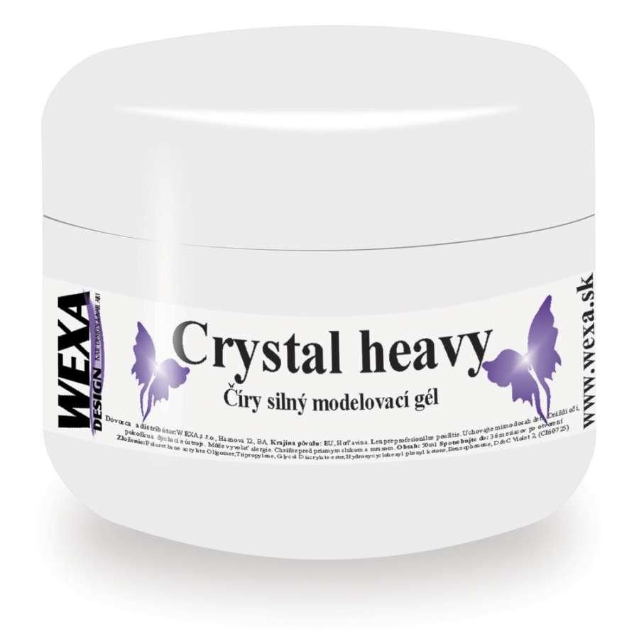 Modelovaci Veľmi Husty Uv Gel Crystal Heavy 50ml