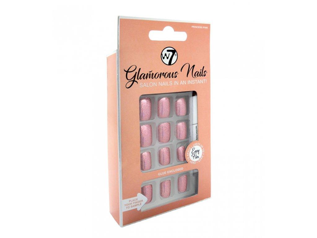 W7 Nalepovaci Nehty Glamorous Nails Princess Pink Dekorativka Cz