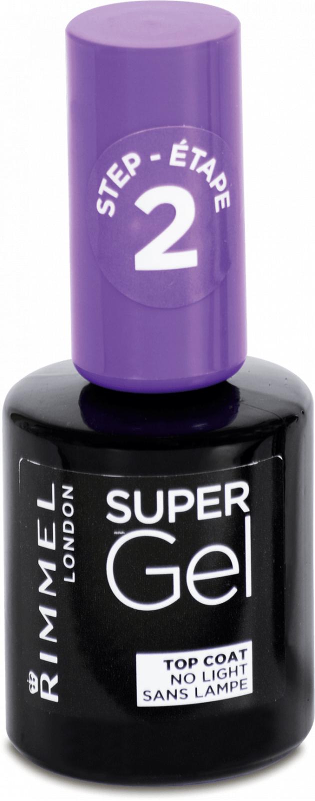 Rimmel Super Gel Top Coat 12 Ml Od 110 Kc Zbozi Cz