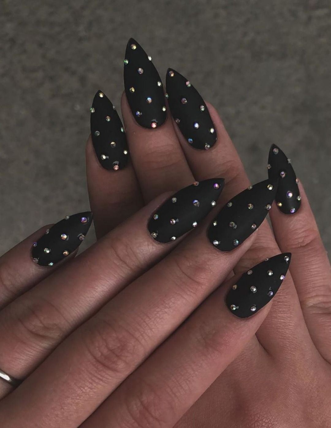 The Most Beautiful Black Winter Nails Ideas In 2020 Gelove Nehty