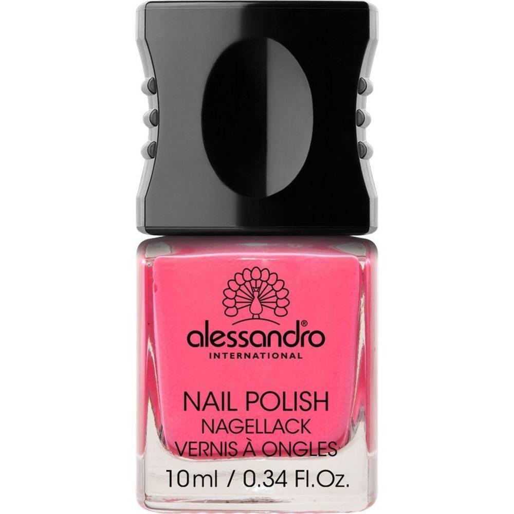 Alessandro Nail Polish Lak Za Nohte Odtenek 142 Neon Pink 10 Ml Ceneje Si