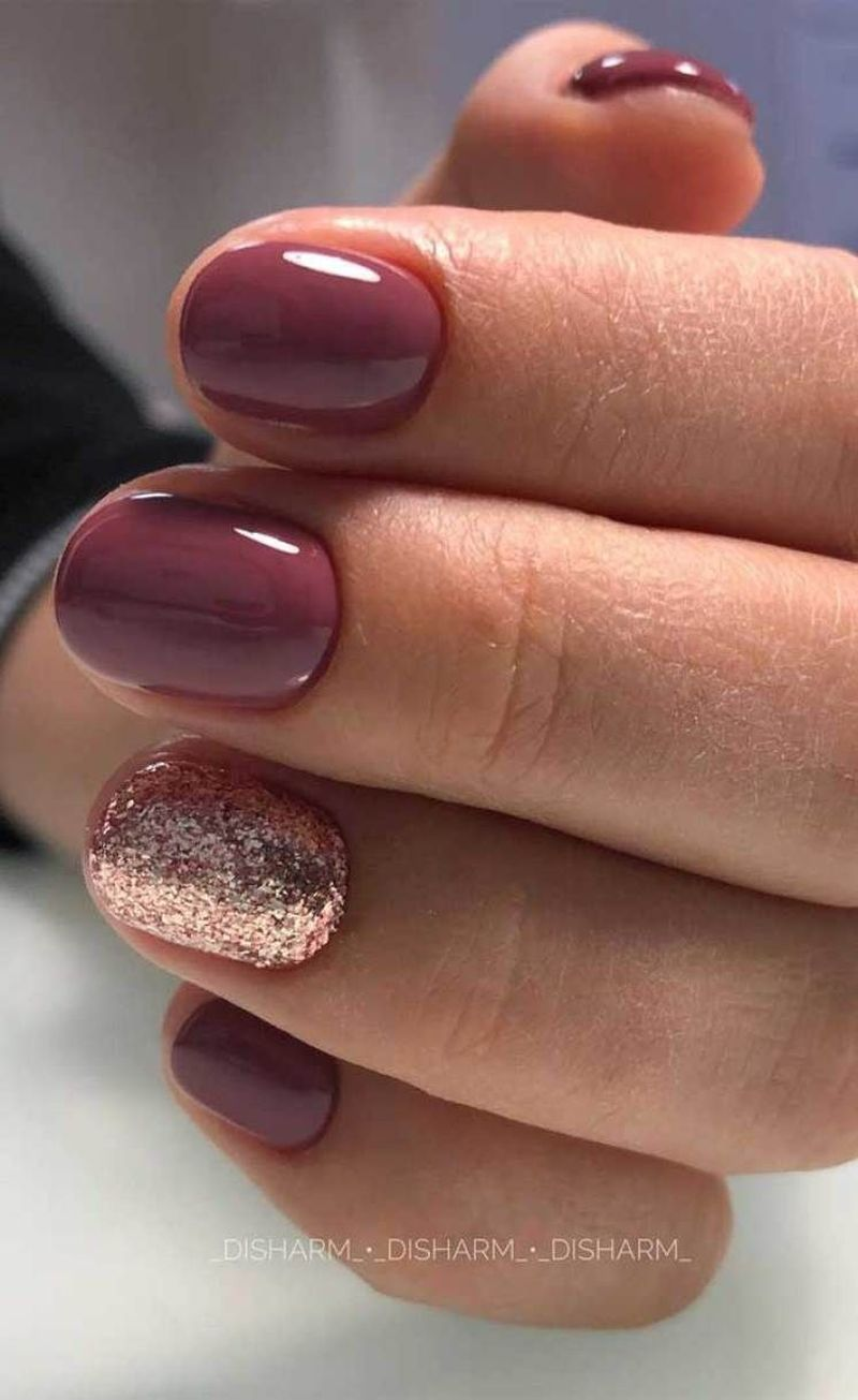 40 Best Fall Nail Colors Ideas Trending Right Now In 2020 Nehty