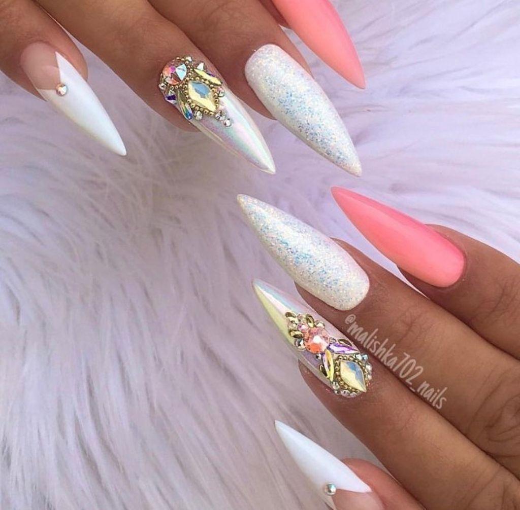 37 Beautiful Nail Art Designs Ideas For Brides Design Nehtu Gelove Nehty Nail Art