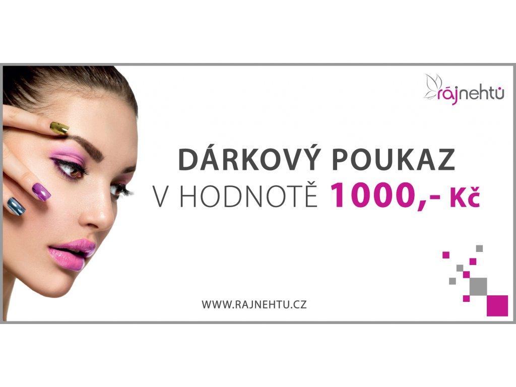 Darkovy Poukaz 1000 Kc Raj Nehtu