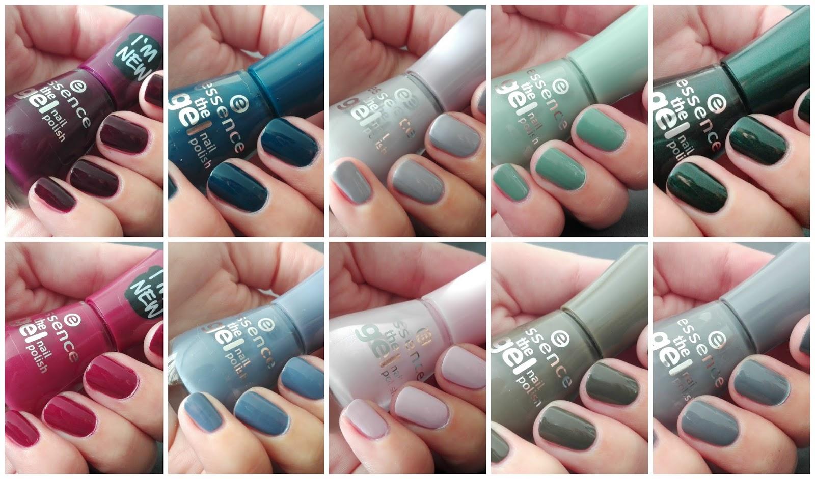 Beauty By K Essence Cosmetisc Nove Podzimni Odstiny Laku Na Nehty