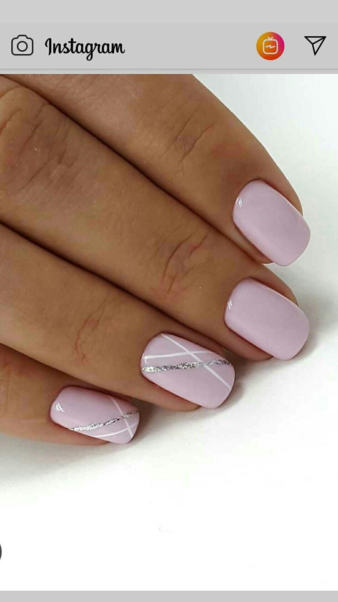 Pale Pretty In Pink Fialove Nehty Gelove Nehty Design Nehtu