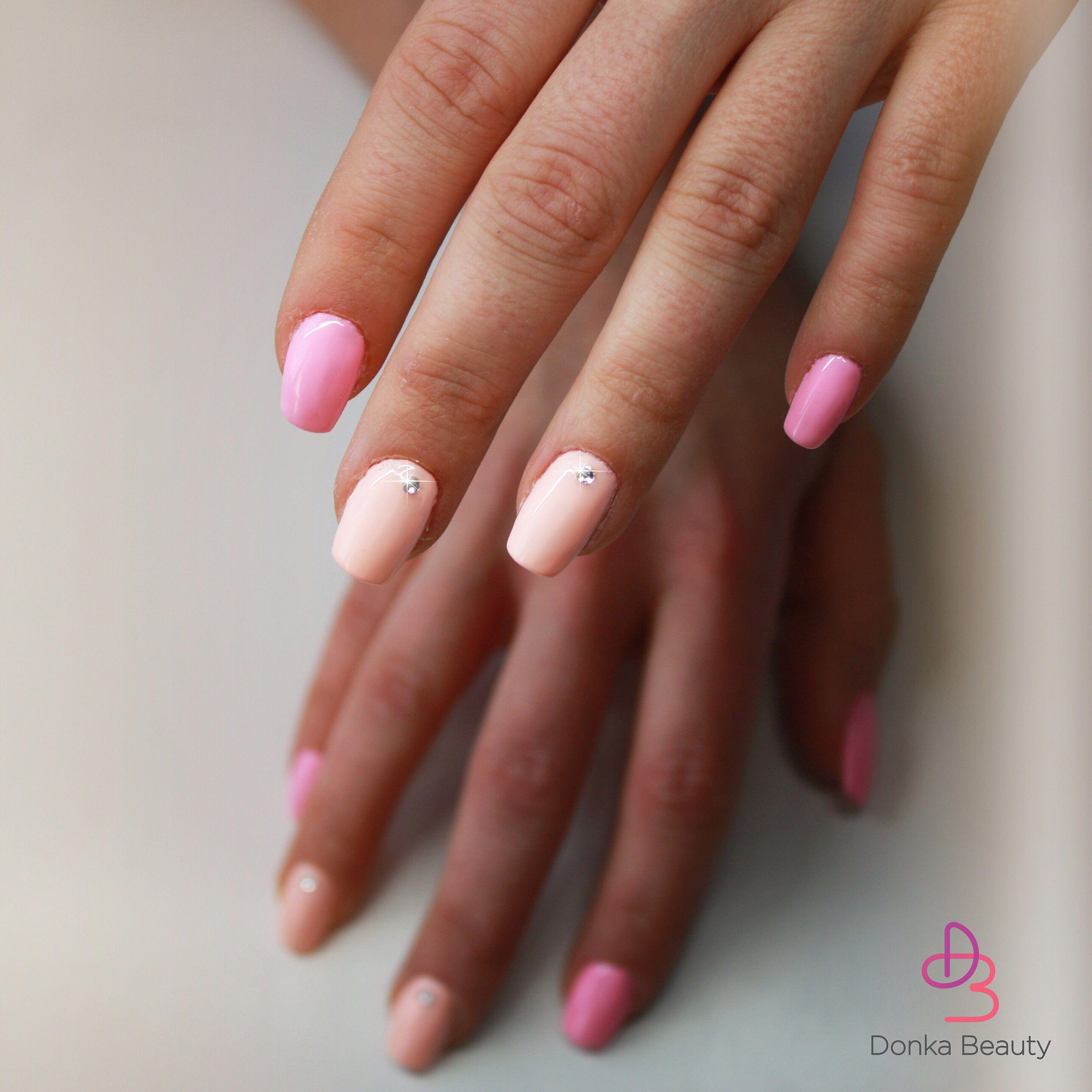 Pink Nails By Donka Beauty Pink Nails Beauty Nails