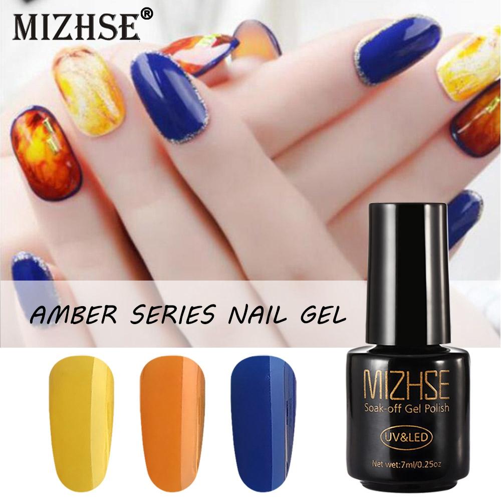 Mizhse Transparent Uv Gel Nail Polish Amber Series Nail Gel Professional Uv Gel Lak Uv Painting Semi Permanent Nail Polishes Nail Gel Aliexpress