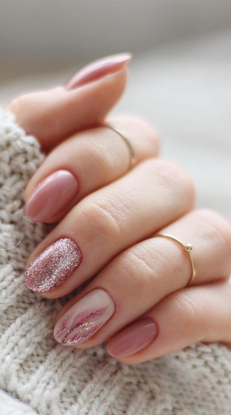 60 Best Winter Nail Art Ideas 2019 Page 9 Of 63 Kratke Nehty Gelove Nehty Nehty