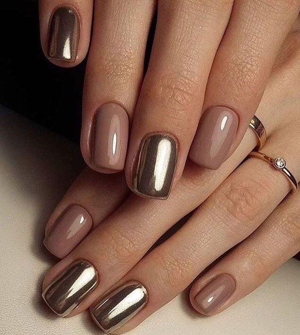 Wonderful Short Nail Designs You Must Love 18 Bezove Nehty