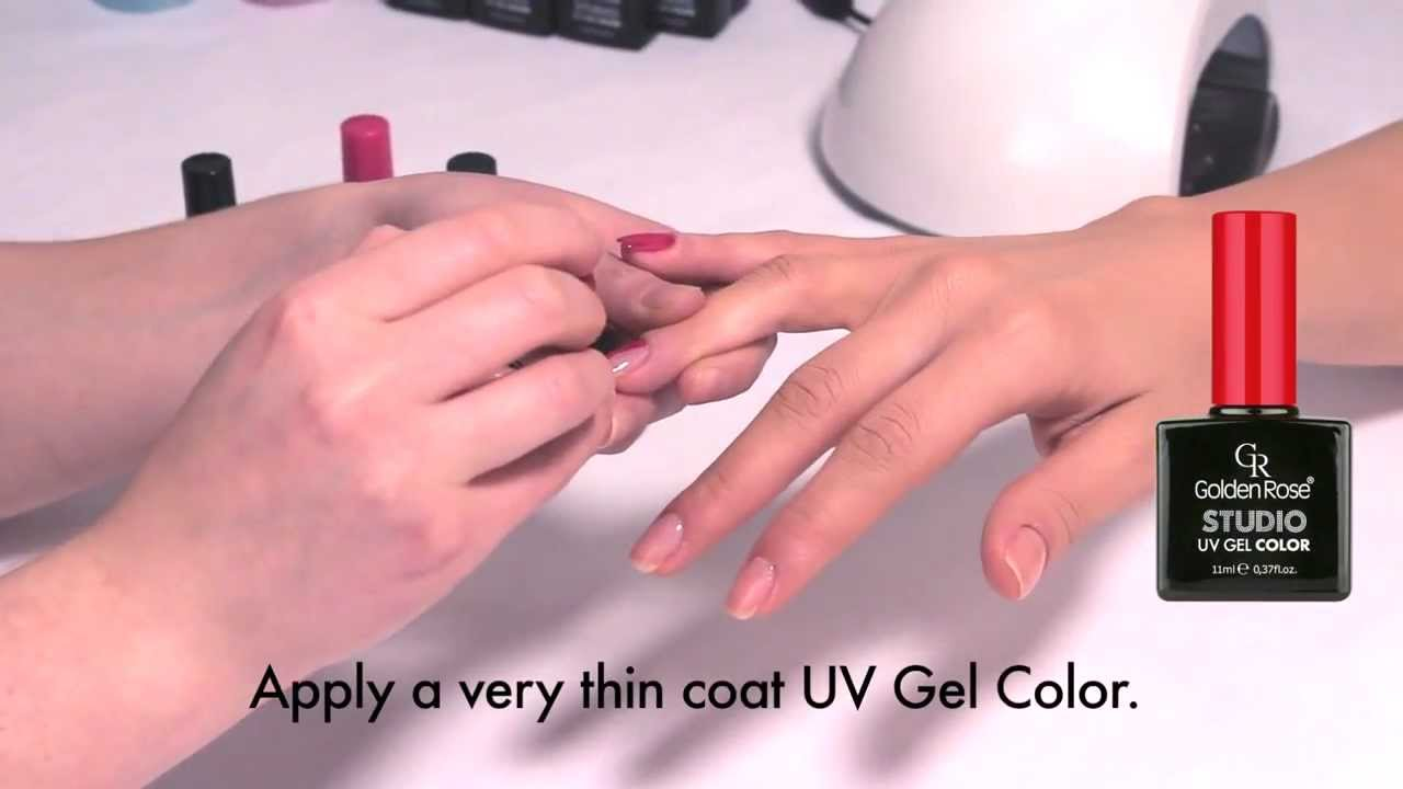 Golden Rose Studio Uv Gel Color System Youtube