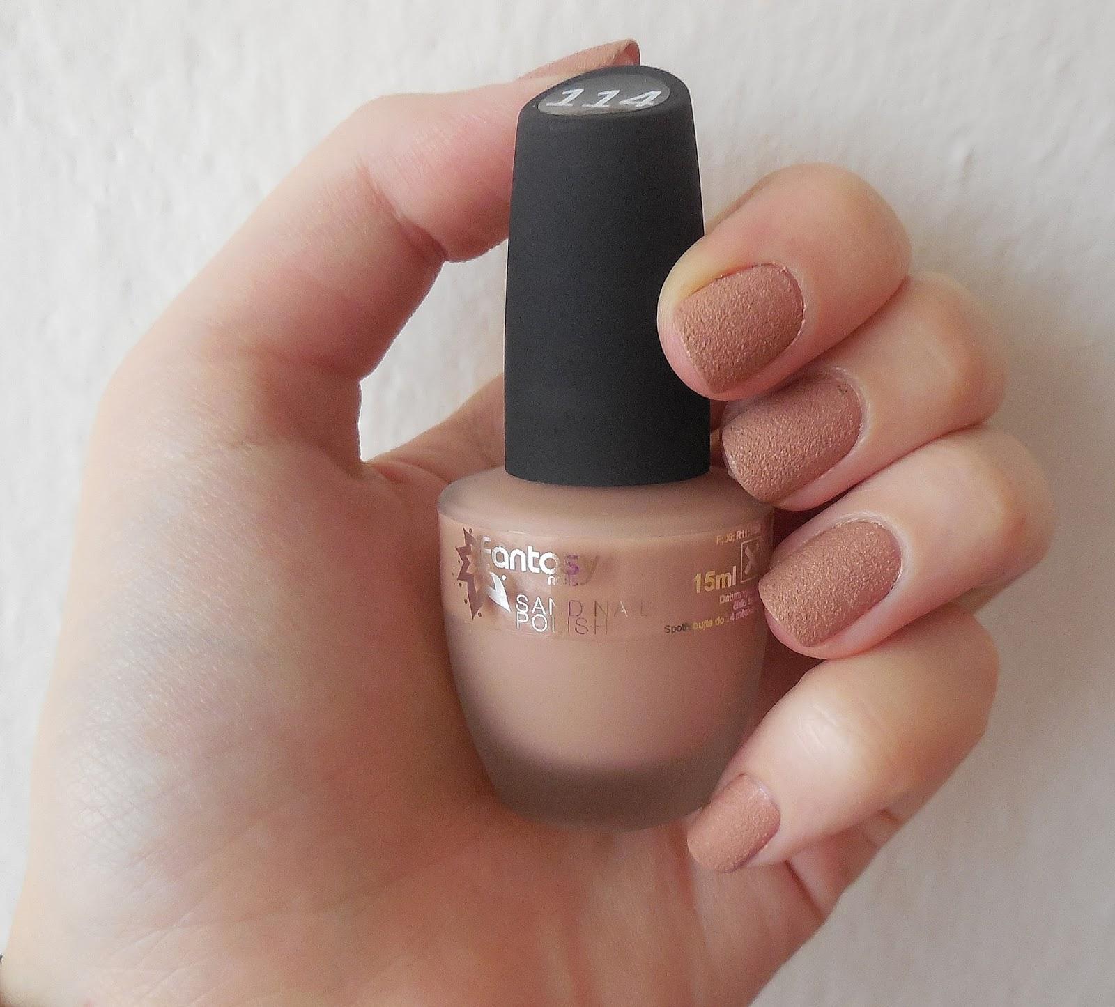 Kosmetika Recenze Blog Blogspot Cz Krasny Nude Piskovy Lak Fantasy Nails
