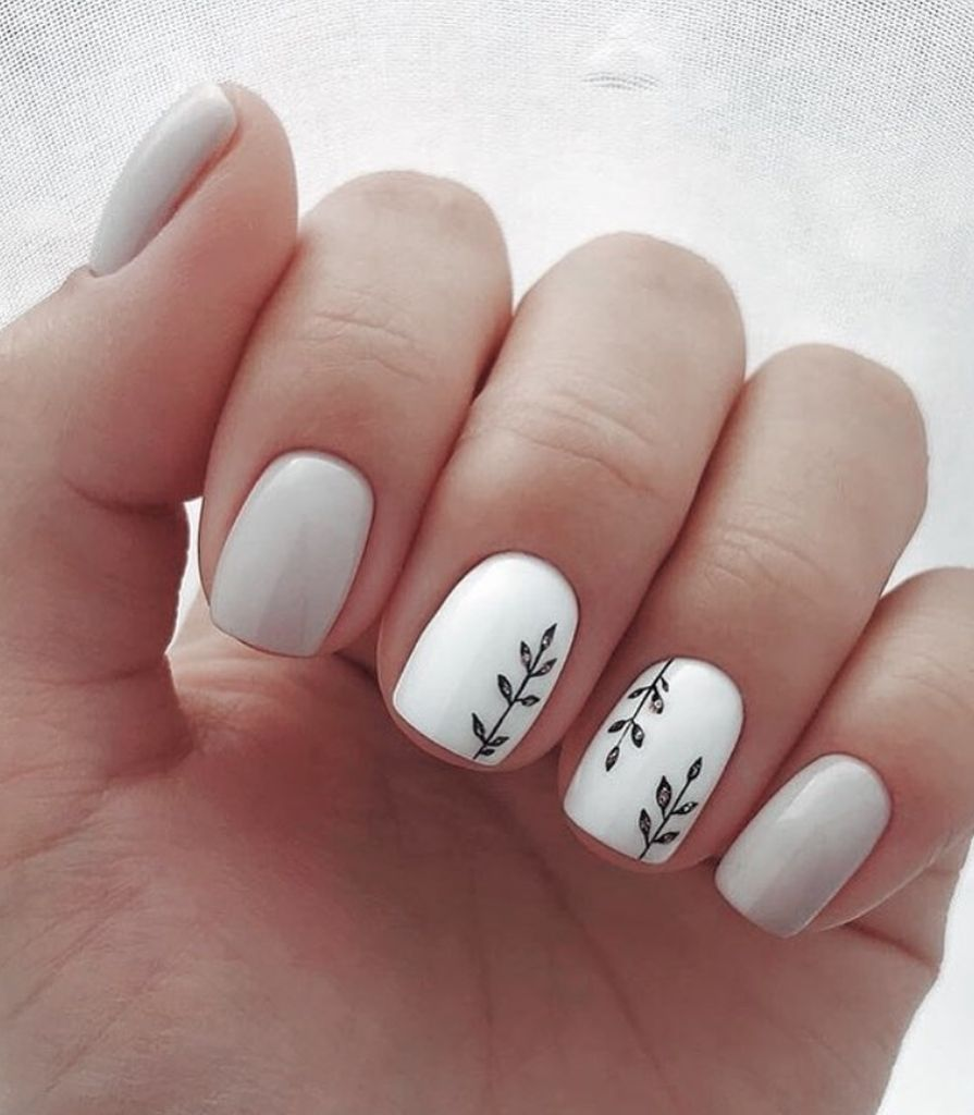50 Cute Nail Art Designs For Short Nails 2019 Umele Nehty Design Nehtu Gelove Nehty