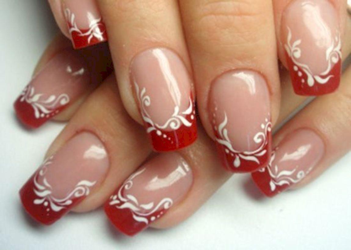 44 Classy Spring Nail Art Design To Try Now Cervene Nehty Design Nehtu Gelove Nehty