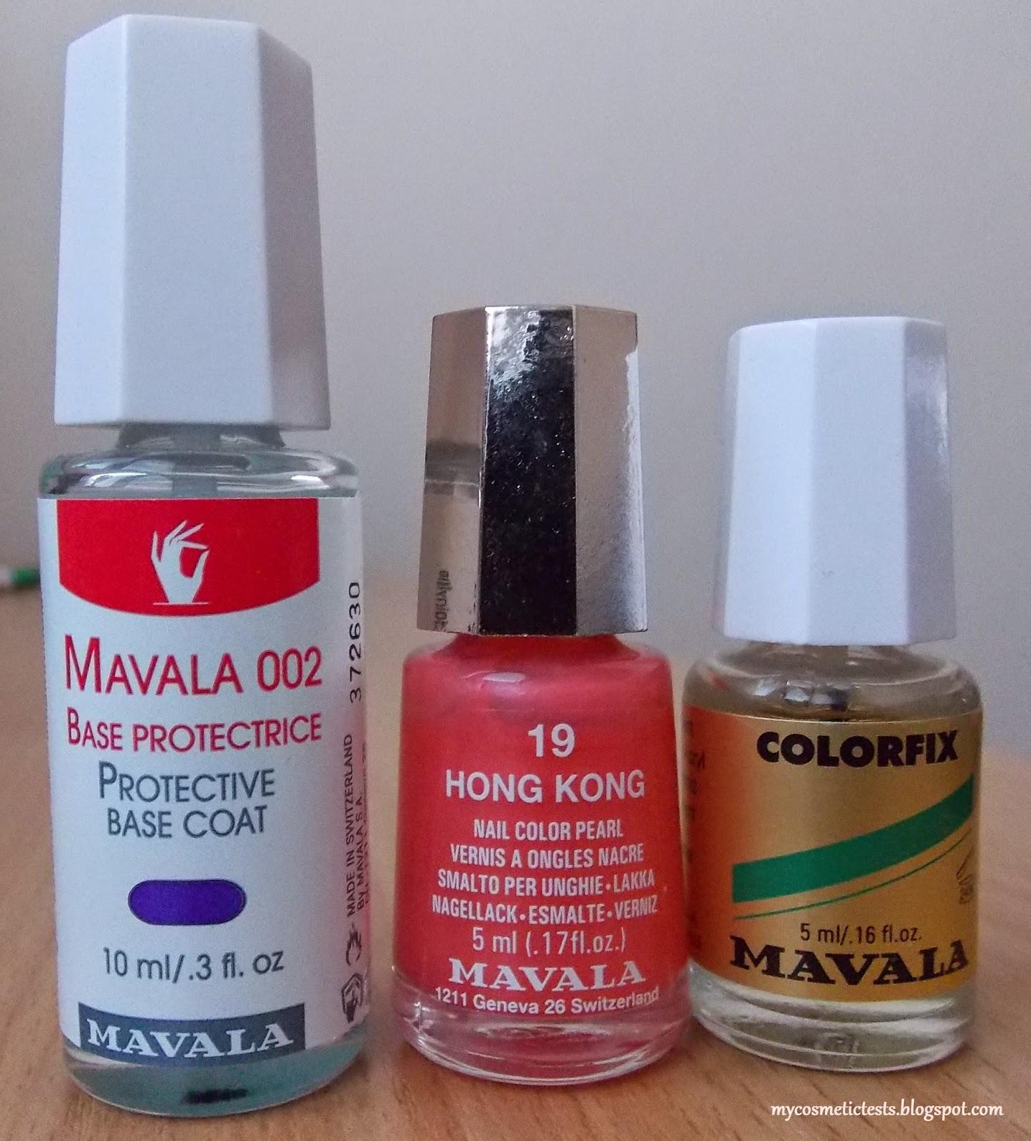Testujeme Kozmetiku Mavala Nails
