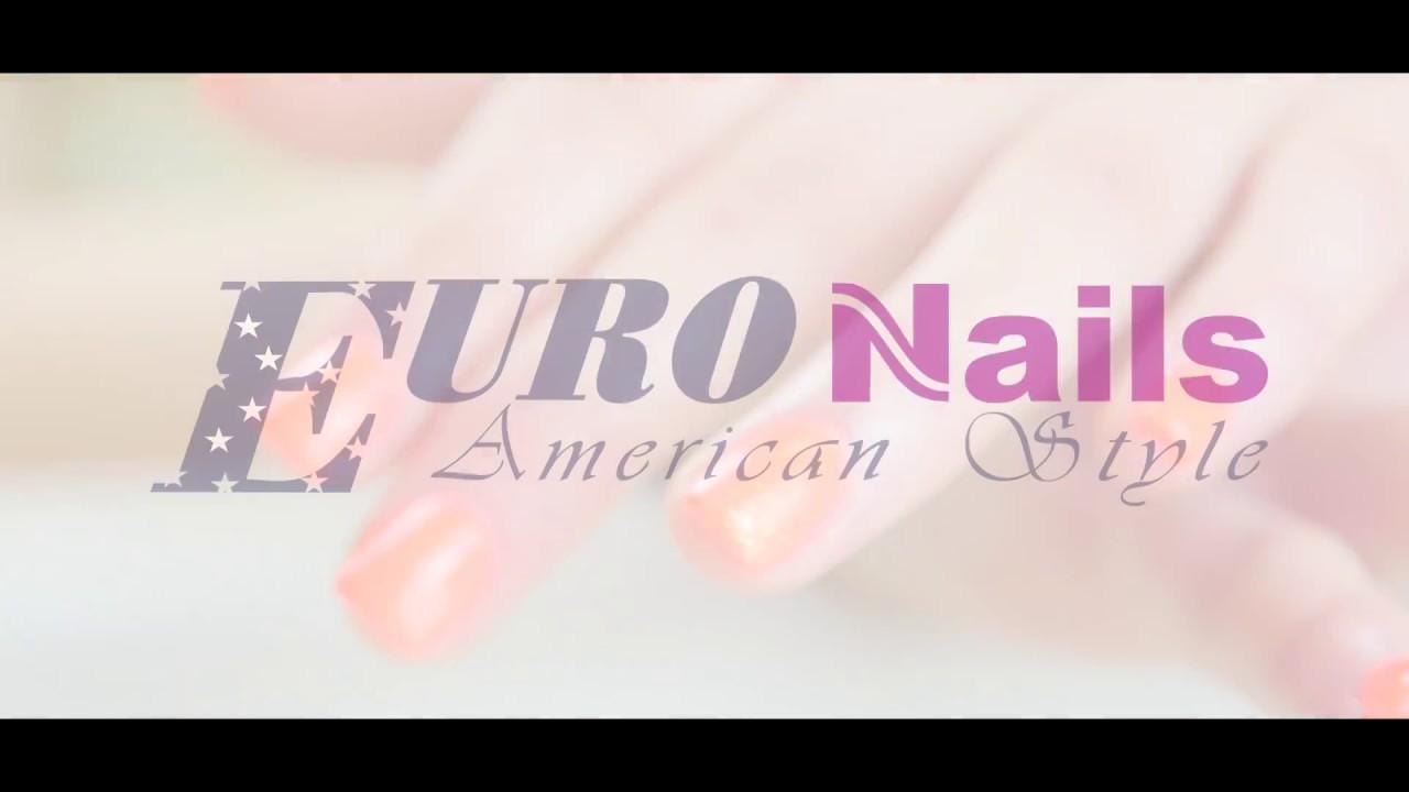 Euro Nails Manikuura A Pedikura Youtube