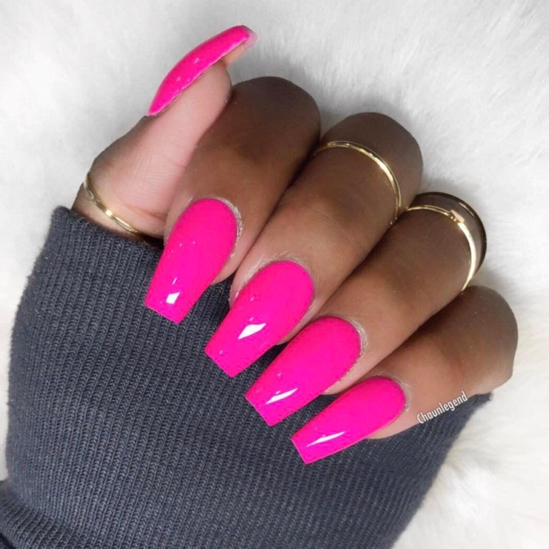 46 Romantic Pink Acrylic Nail Design 2019 Looks Classy Gelove Nehty Design Nehtu Nehty