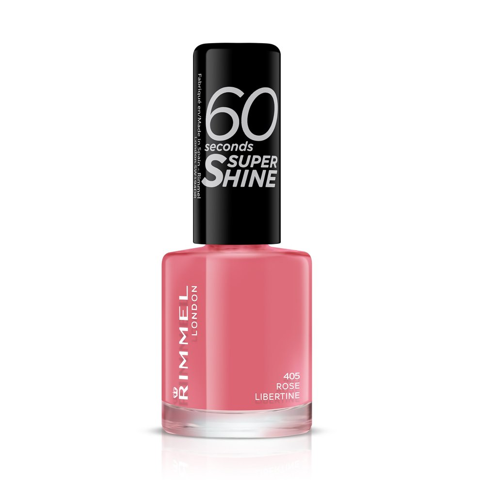 3614220616971 Ean 34778209405 Rimmel 60 Seconds Super Shine Nail Polish 8 Ml Rose Libertine Buycott Upc Lookup
