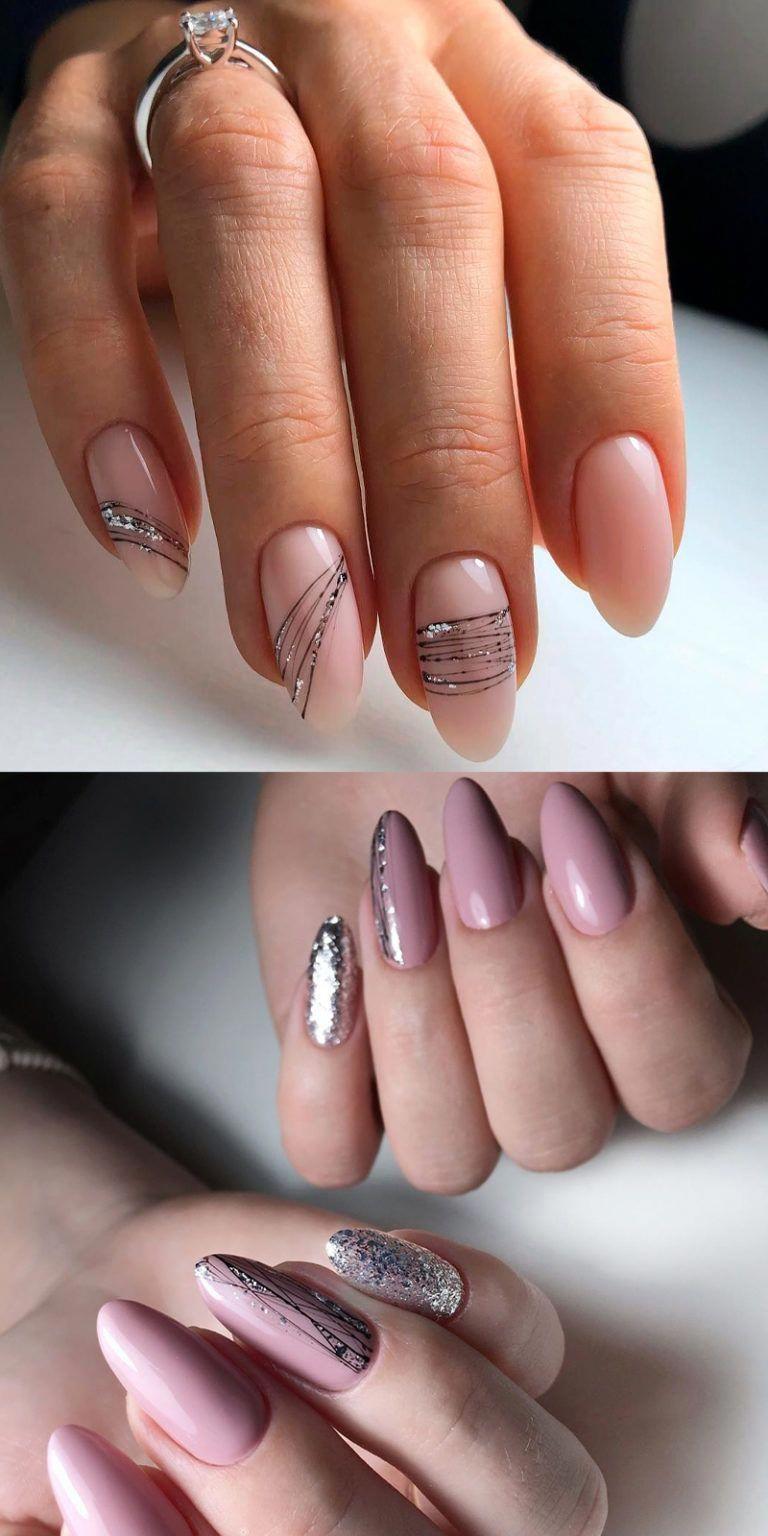 Make An Original Manicure For Valentine S Day V 2020 G Kruglye Nogti Dizajnerskie Nogti Krasivye Nogti