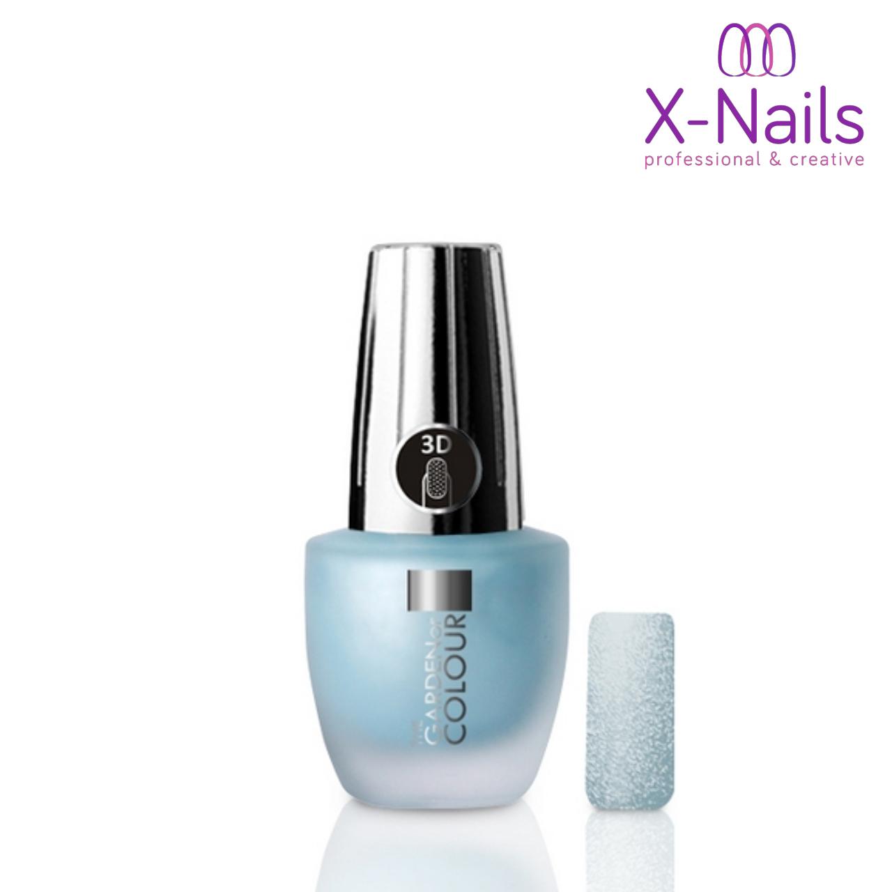 X Nails Lak Na Nehty 3d Piskovy Efekt 117 Sandy In Light Blue