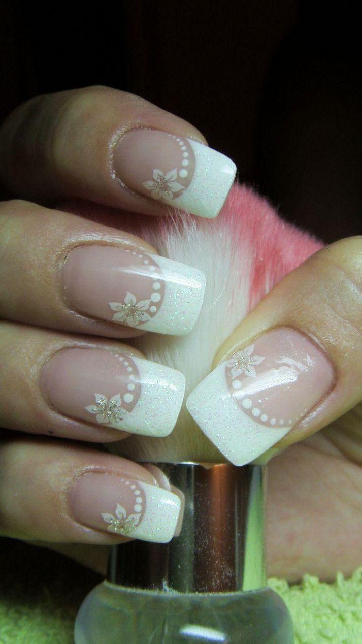 Wedding Nails For Bride Bridal Design Nehtu Gelove Nehty A Nehty