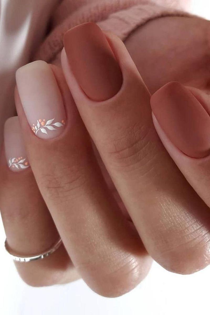 Nice 41 Best Winter Nails Design In 2020 Https Fashionnita Com Best Winter Nails Design In 2020 Manicura Para Unas Cortas Unas De Gel Bonitas Gel De Unas