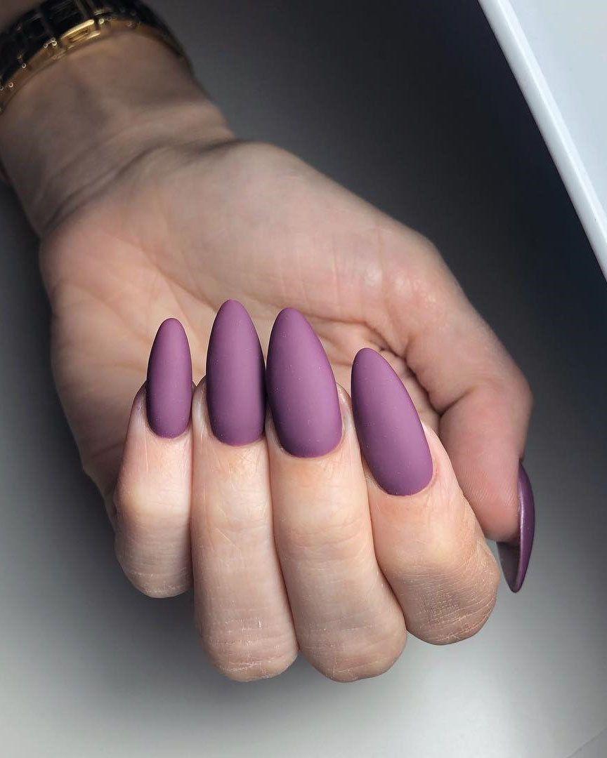 100 Trendy Matte Nails Designs Inspirations 2019 Nehty Design