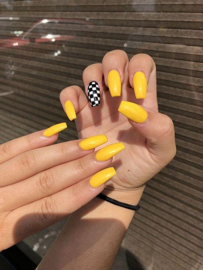 50 Acrylic Nail Color Designs For Summer 2019 Gelove Nehty Design Nehtu Nehty