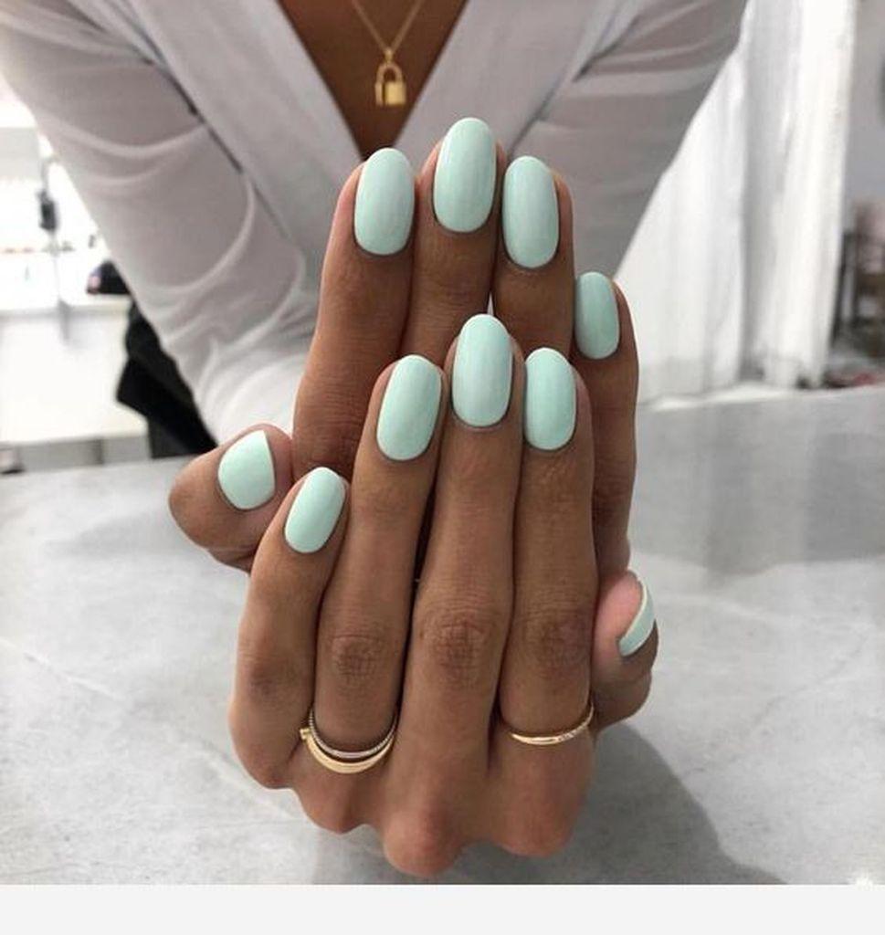 25 Trending Light Nails Color For Fall Winter In 2020 Barevne Nehty Gelove Nehty Nehty