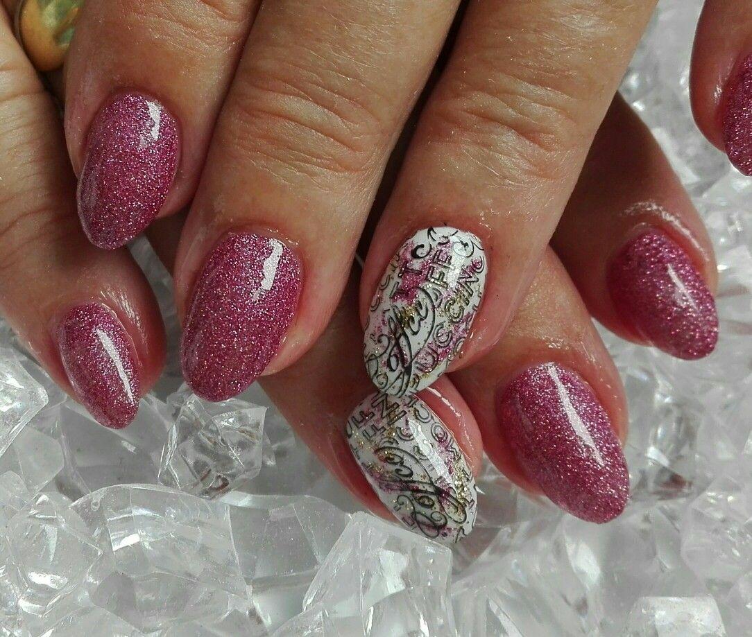 Glitter Nails Nehty