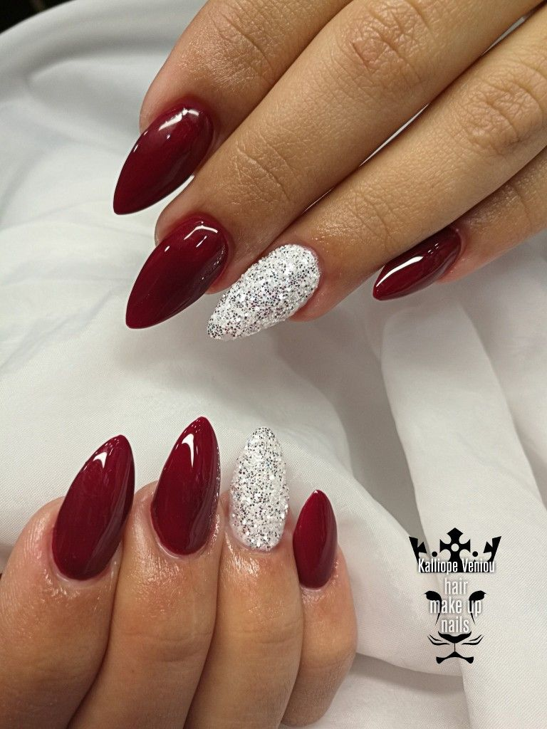 Pin By Miska Misa On My Nails In 2020 Cervene Nehty Gelove Nehty Design Nehtu