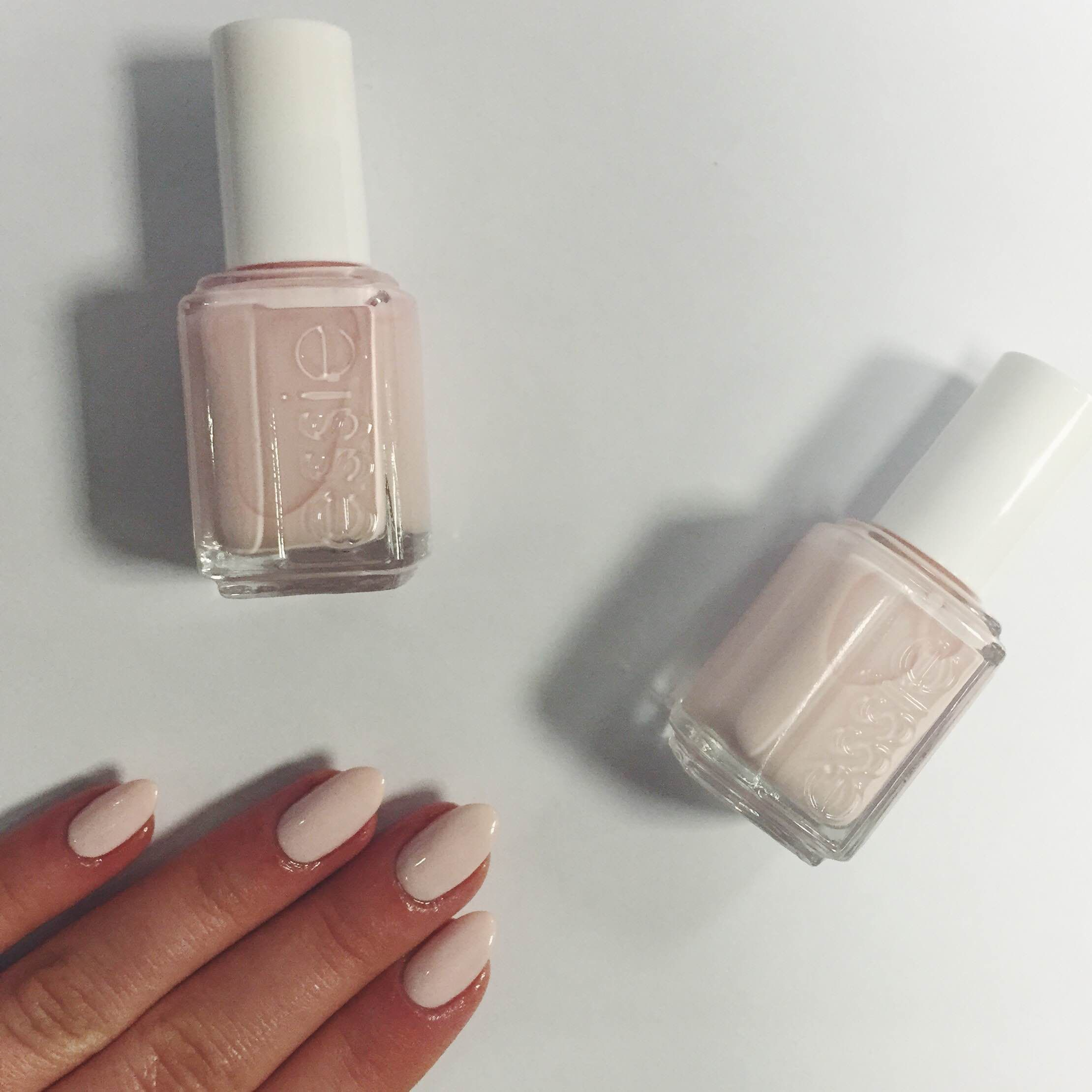 A Classic Essie Combination Ballet Slippers Layered Over Romper Room A Stunning Choice For Any Bride To Be Looki Ballet Slippers Essie Ballet Slippers Essie