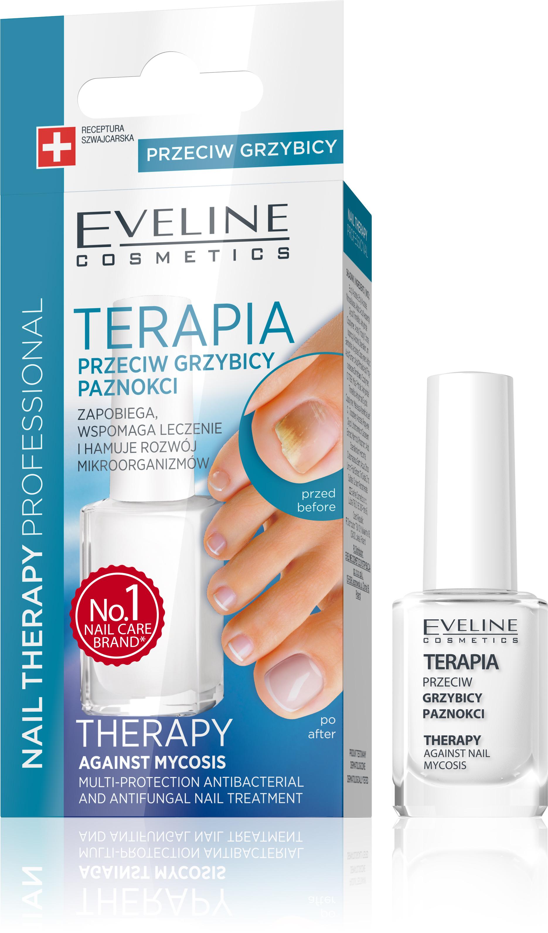 Eveline Lak Na Nechty Ochranny Antibakterialny A Antifungalny Eveline Cosmetics Eveline Eu Sk