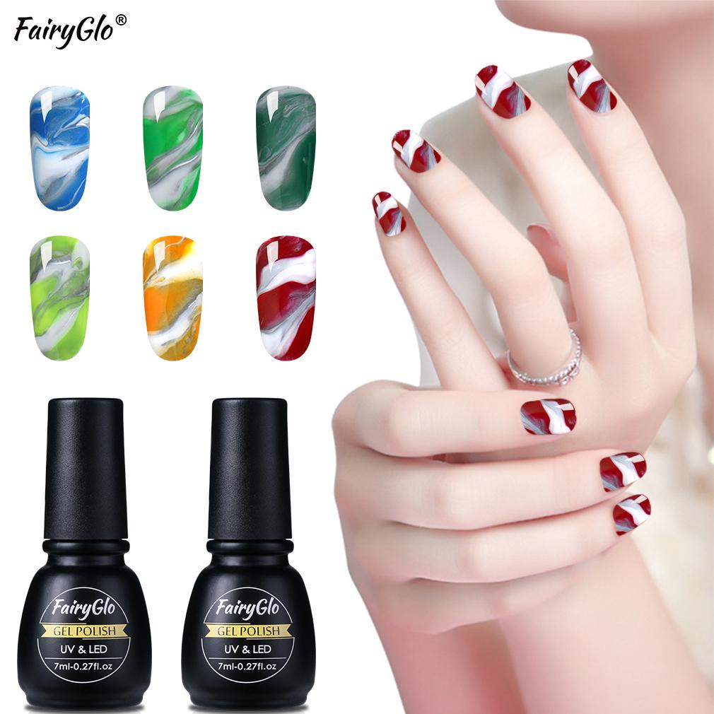 Fairyglo 7ml Variety Nail Gel Stamping Uv Gel Varnishes Esmalte Permanente Gel Nail Polish Pure Color Enamel Gel Lak Top Base Nail Gel Aliexpress