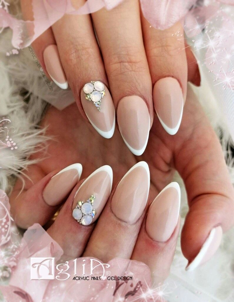 Acrylic Nails Gel Design French Nails