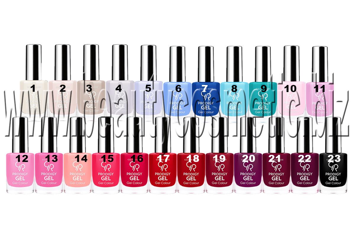 Golden Rose Prodigy Gel Single Nail Polish Beautycosmetic Online Store