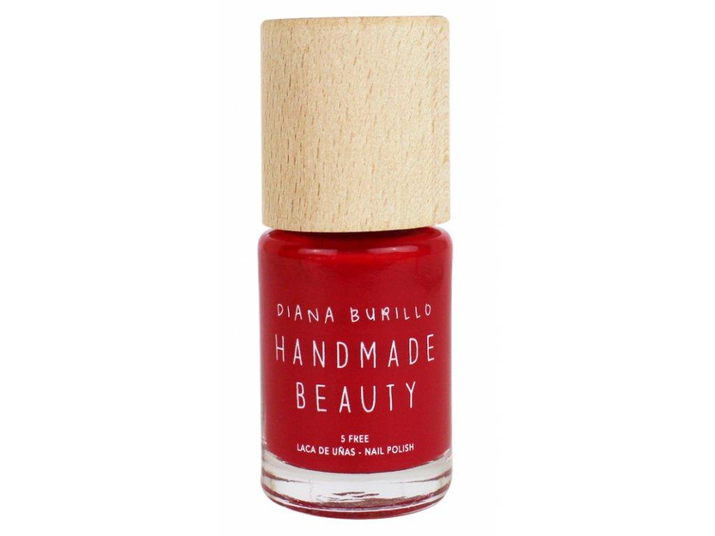 Handmade Beauty Lak Na Nehty 5 Free 10 Ml Cherry Biokate