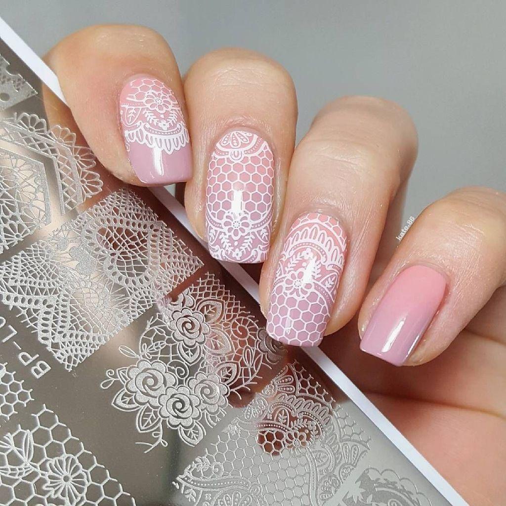 46 Stunning Stamping Nail Art Ideas Design Nehtu Nehty Design