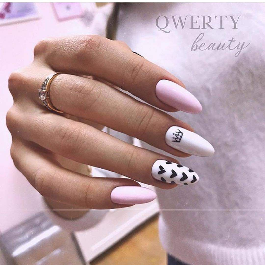 April 2020 Manicure The Real Spring Of Ideas Pink Nails Womens Nails Pink Manicure