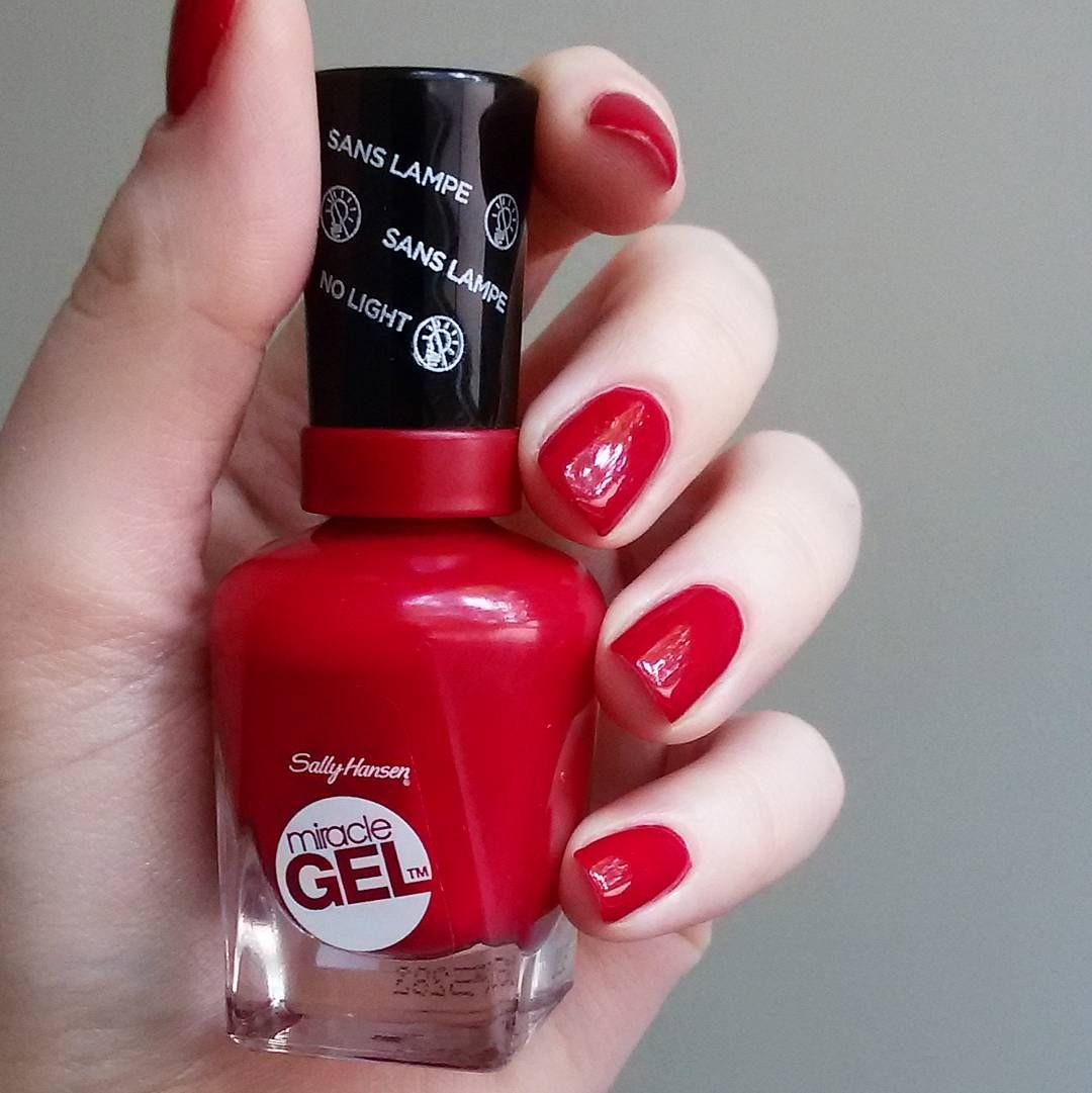 Rhapsody Red Sally Hansen Miracle Gel Miracle Gel Sally Hansen