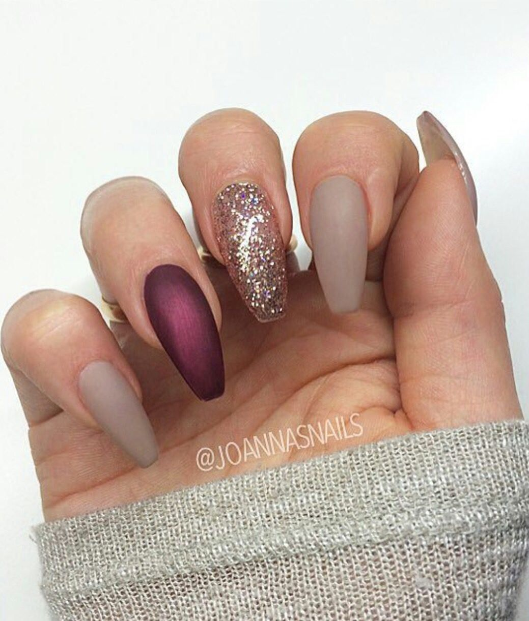 Cool Matte Nail Designs To Copy In 2019