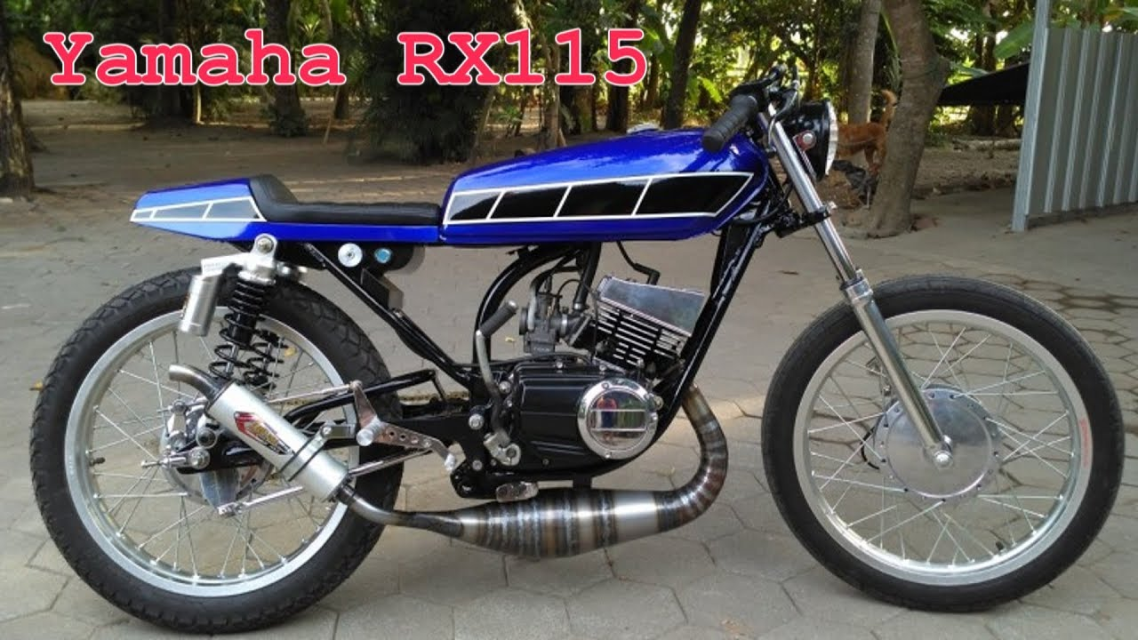 Yamaha Rx 135 Cafe Racer By Sameer Rockk