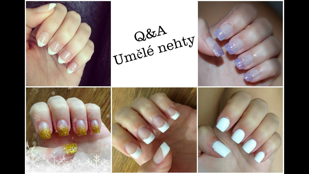Q A Umele Nehty Artificial Nails Youtube