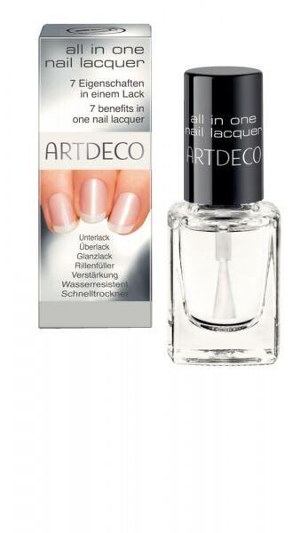 Artdeco All In One Nail Lacquer Multifunkcni Transparentni Lak Na Nehty S Vysokym Leskem Profiskin Cz