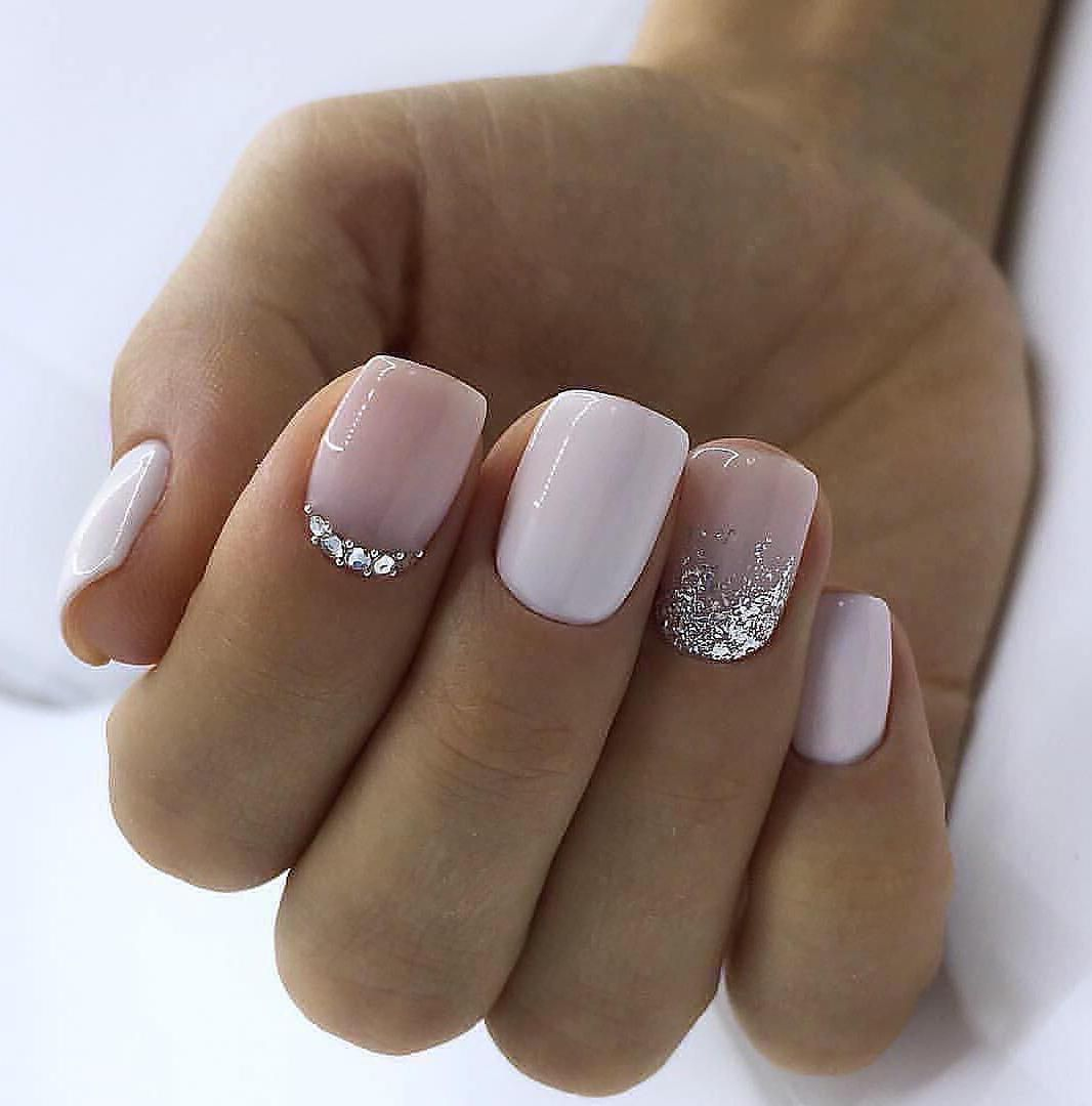 60 Trendy Square Nail Art Ideas For Short Acrylic Gelove Nehty Design Nehtu Umele Nehty