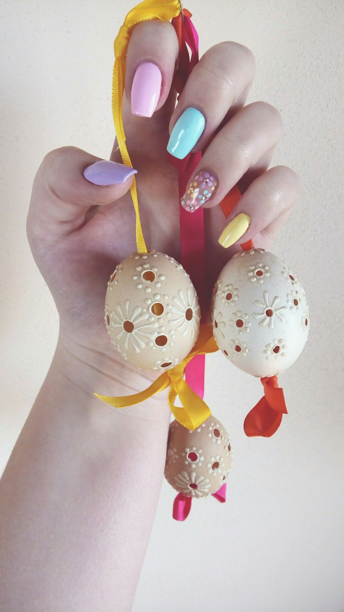 Easter Acryl Nails Easter Acrylic Nails Pastel Holiday Nails Diy Holiday Nails Easter Nails