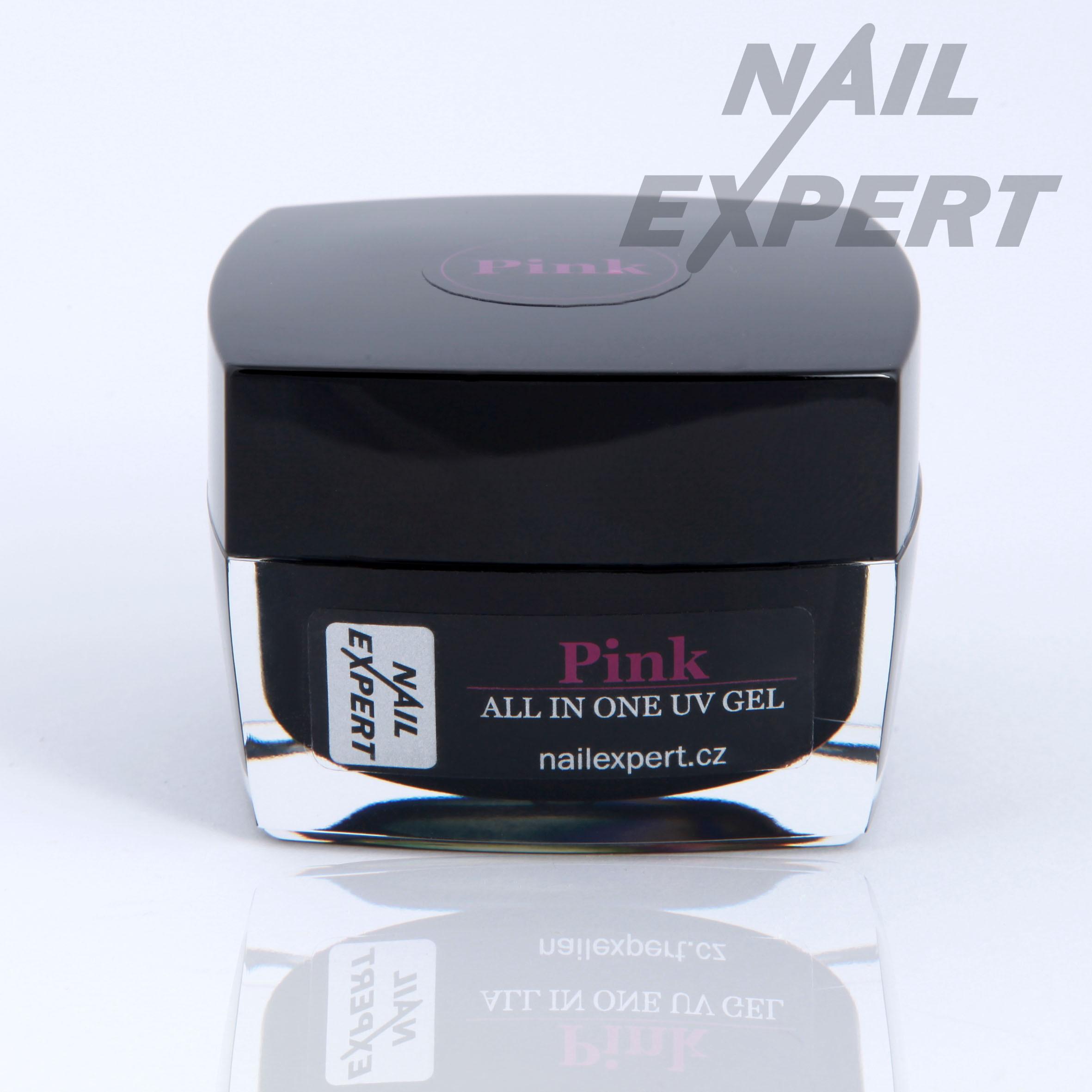 Nail Expert Pink Jednofazovy Uv Gel 40ml Jednofazove Gely Zakladni Uv Gely