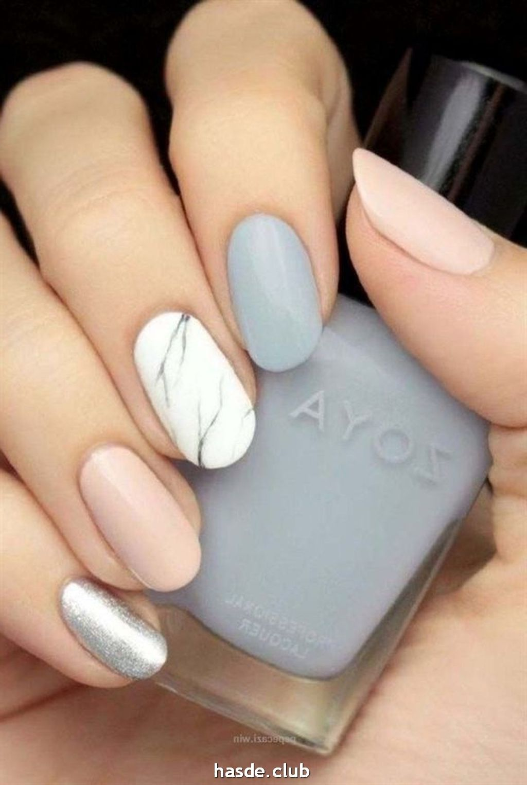 30 Inspiring Winter Nails Color Trend 2020 In 2020 With Images